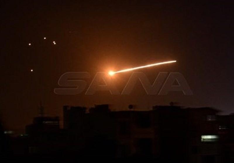 Syria Air Defense Units Thwart Israeli Attack near Damascus
