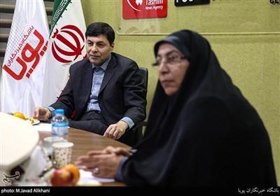 خلیل علی محمدزاده رییس مرکز تحقیقات سیاستگداری اقتصاد سلامت در نشست جمعیت و چالش های مربوط به کاهش آن