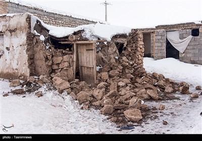 خسارات زلزله در بخش قطور از توابع شهرستان خوی -آذربایجان غربی