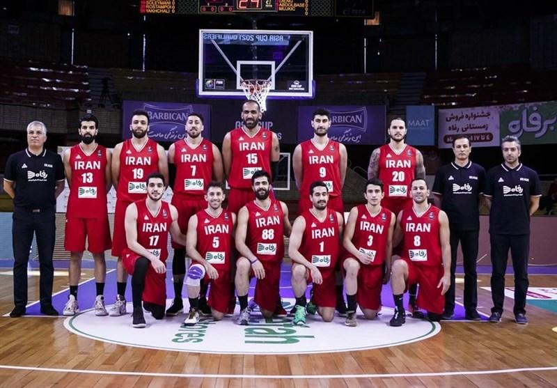 Iran Basketball Team to Start Camp on November 13