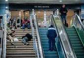 """تصاویر// اینجا قلب آمریکاست!/ آذین نیویورک با انبوهی از """"بیخانمانهای دائمی!"""""""