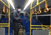 اقدامات پیشگیرانه در اتوبوسهای درون شهری بیرجند علیه ویروس کرونا انجام میشود