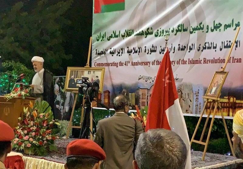 چهل سالگی انقلاب , کشور عمان ,