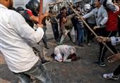 حمله نظامیان هندی به مخالفین سفر ترامپ 4 کشته برجای گذاشت+تصاویر