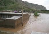 تازهترین اخبار از بارشهای سیلآسا در ایلام| تخلیه منازل حاشیه سیمره / جاده میمه ـ زرینآباد مسدود شد