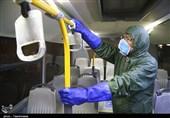 ضد عفونی کردن ناوگان اتوبوسرانی شهری بجنورد به روایت تصاویر