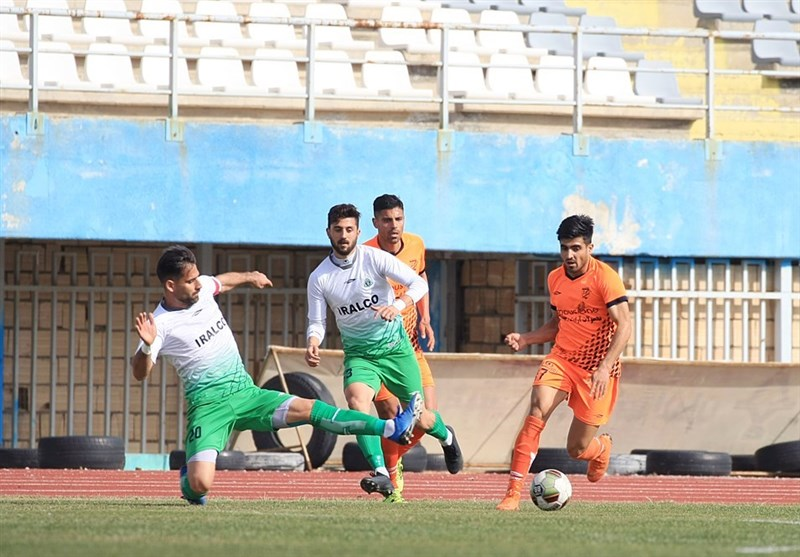 لیگ دسته اول فوتبال| صعود آلومینیوم به رده دوم با شکست تحقیرآمیز علم و ادب/ ملوان و خوشه طلایی پیروز شدند