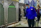 تهران|اتخاذ تدابیر پیشگیرانه از شیوع ویروس کرونا در حرم سیدالکریم(ع)؛ تمام برنامههای تجمعی در آستان عبدالعظیم حسنی(ع) لغو شد