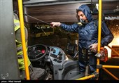 ناوگان اتوبوسرانی مشهد شبانهروزی «ضدعفونی» میشود