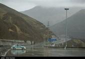 انسداد مسیر شمال به جنوب آزادراه تهران ـ شمال تا اطلاع ثانوی