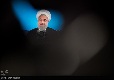سخنرانی حسن روحانی رئیس جمهور در آیین افتتاح فاز یک آزادراه تهران-شمال