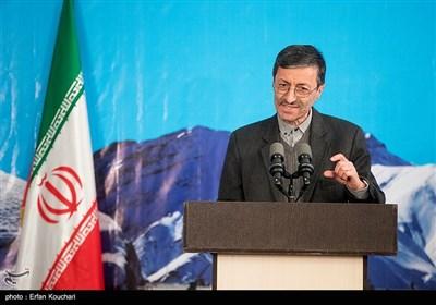 سخنرانی پرویز فتاح رئیس بنیاد جانبازان و مستضعفان در آیین افتتاح فاز یک آزادراه تهران-شمال