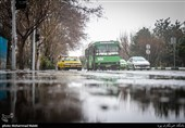 سیلاب در انتظار قم؛ کاهش چشمگیر دما