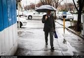 از ثبت 77 میلیمتر باران تا بارش برف 6 سانتی در روستاهای قم در 24 ساعت گذشته