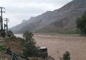 آخرین وضعیت سیلاب در چهارمحال و بختیاری|جاده بازفت - خوزستان مسدود است