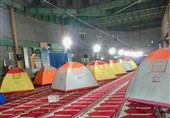 کمپهای اضطراری جمعیت هلالاحمر لرستان جمعآوری شد