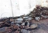 سوریه|کشف مقادیر زیادی سلاح و مهمات پیش از رسیدن به قلعه تروریستها