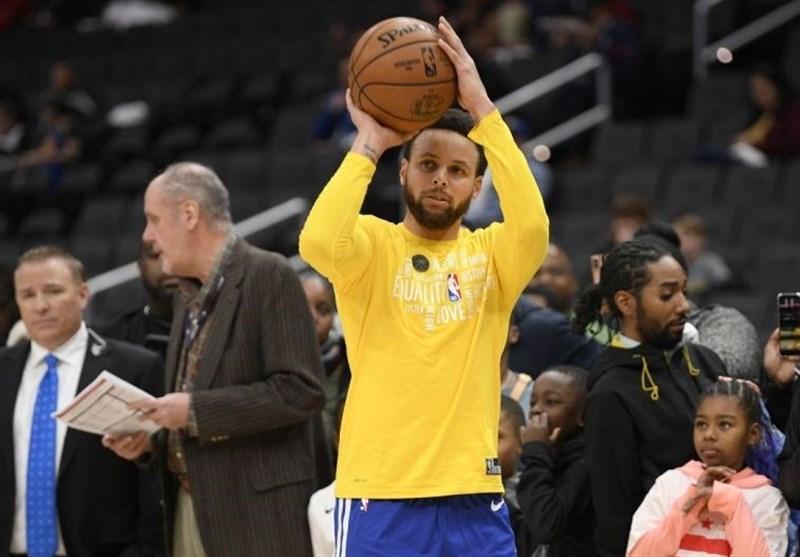 لیگ NBA| بازگشت کری به ترکیب گلدن استیت