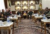 انعقاد اللجنة العسکریة المشترکة الثانیة بین إیران وأذربیجان