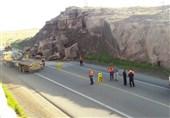 رانش زمین جاده ارکواز شهرستان ملکشاهی- میمه را مسدود کرد