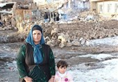 گزارش تصویری| وضعیت مناطق زلزلهزده قطور خوی / خسارات فراوان به روستاییان