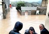 گزارش ویدئویی تسنیم| وضعیت شهر سیلزده نورآباد؛ خانههایی که زیر آب رفت