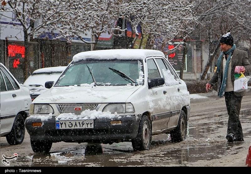 هواشناسی ایران 98/12/14| برف و باران 2 روزه در برخی استان ها/ افزایش آلودگی هوا شهرهای صنعتی در آخر هفته