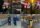 ضدعفونی وسایل عمومی در شهرکرد برای مبارزه با کرونا