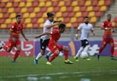 لیگ برتر فوتبال| تساوی فولاد و شاهین در 45 دقیقه نخست