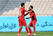 لیگ برتر فوتبال| پرسپولیس با برتری مقابل شهر خودرو به رختکن رفت