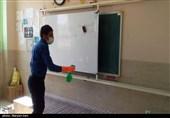 ضدعفونی مستمر مدارس استان گلستان؛ ابتلای دانشآموزان به کرونا گزارش نشده است