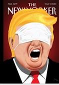 طرح روی جلد انتقادی نیویوکر از سیاست ترامپ درباره کرونا