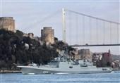 حرکت 2 کشتی نظامی روسیه به سمت سواحل سوریه