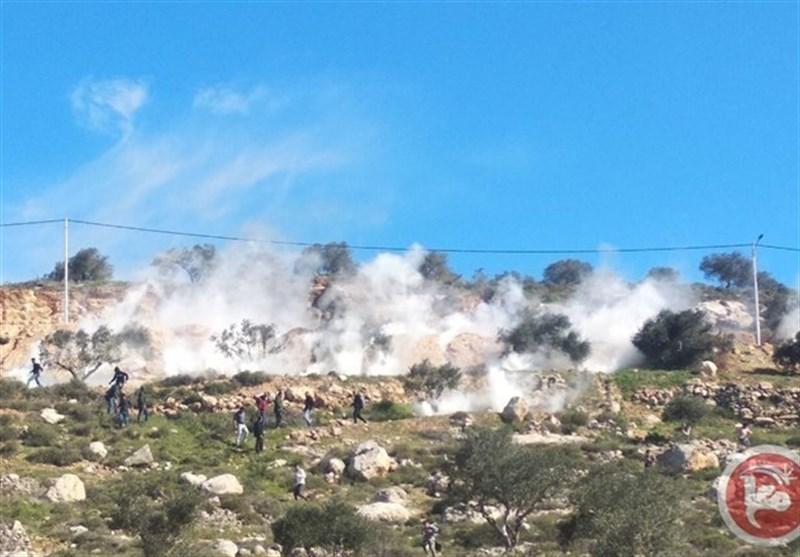 مواجهات مع الکیان الصهیونی فی الضفة وعشرات الاصابات