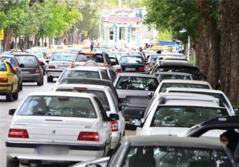 کاهش 22 درصدی تردد خودروها در تهران در اولین روز طرح فاصلهگیری اجتماعی