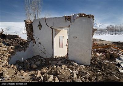 روستاهای زلزله زده بخش قطور شهرستان خوی پس از هفت روز -آذربایجان غربی