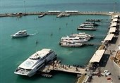رفت و آمد دریایی به جزیره قشم محدود شد