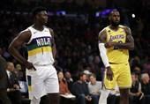 لیگ NBA|پیروزی لیکرز با تریپل دابل جیمز/ کلیپرز از سد سیکسرز گذشت