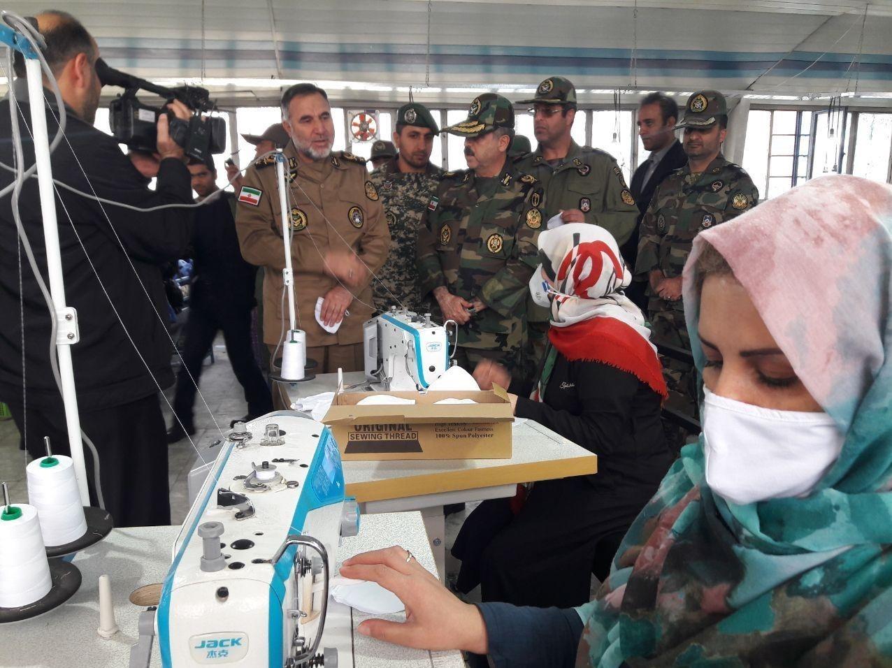آجا   ارتش   ارتش جمهوری اسلامی ایران , نزاجا   نیروی زمینی ارتش , ویروس کرونا ,
