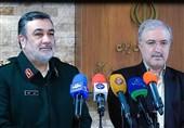 پیام تقدیر آمیز فرمانده نیروی انتظامی به وزیر بهداشت