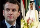 تماس تلفنی ماکرون با امیر قطر درباره توافق طالبان و آمریکا