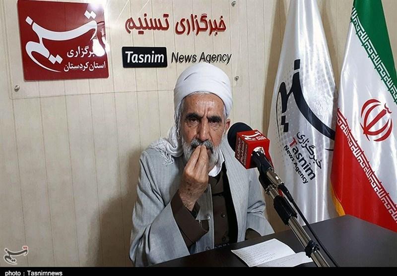 ماموستا رستمی در گفتوگو با تسنیم: اقدام تروریستی ضدانقلاب در سروآباد جنایتی سنگین برعلیه بشریت است