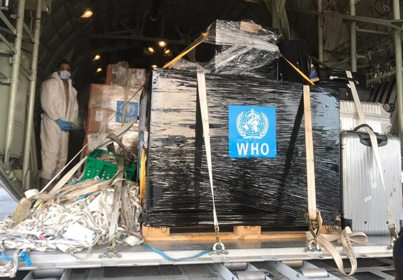 Iran Receives Medical Aid from WHO