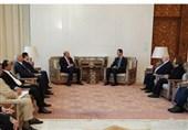 دیدار یک هیئت لیبیایی با بشار اسد