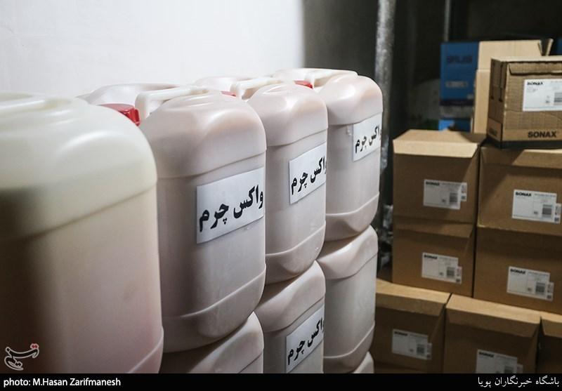 کشف انبار بزرگ احتکار مواد ضدعفونی در اردبیل به همت سازمان اطلاعات سپاه