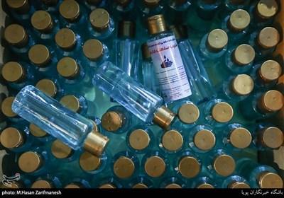 کشف کارگاه تولید مواد ضدعفونیکننده تقلبی در خط تولید قطعات تقلبی خودرو