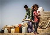 کمبود آب آشامیدنی در جزیره قشم / مردم روستای رمچاه از آب غیربهداشتی استفاده میکنند + فیلم