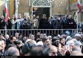 مراسم تشییع پیکر حجتالاسلام مقدسیان برگزار شد + تصاویر