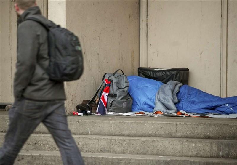 انگلیس/ افزایش 130 درصدی بستری بیخانمانها در سال 2019 + تصاویر