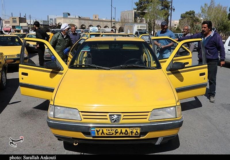 گزارش  سفره بدون نان تاکسیرانهای قزوینی / دریغ بیمه بیکاری از رانندگان تاکسی + فیلم